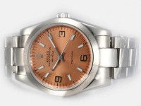 Rolex Air King Braunes Zifferblatt Uhr