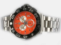 Tag Heuer Formula 1 Slr Golf Orange Zifferblatt Uhr